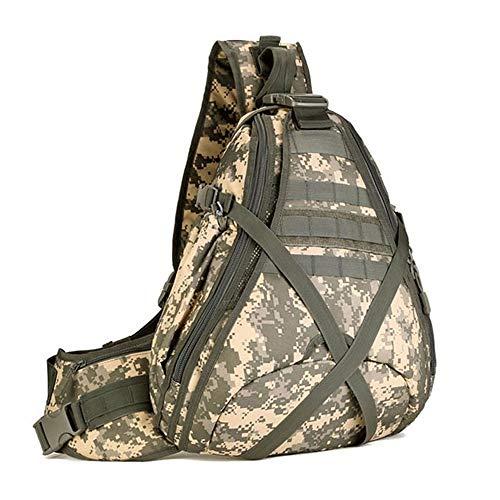 TnXan Männer Taktische Rucksack Einzelner Schulterbeutel Brusttaschen Molle Army Military Crossbody Outdoor Camping Sling Wasserdicht Sac