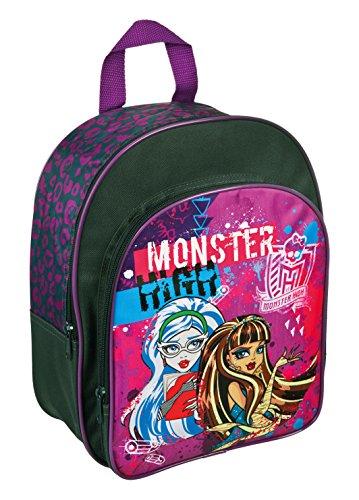 Undercover MHRZ7601 Rucksack mit Vortasche Monster High, ca. 30 x 26 x 10 cm