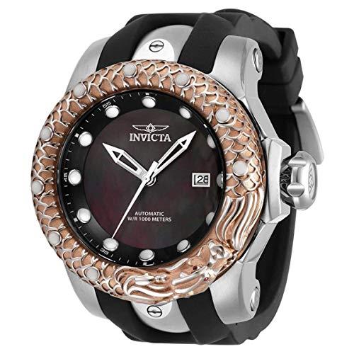 Invicta Venom Subaqua Dragon reloj automático de hombre con esfera negra 33599