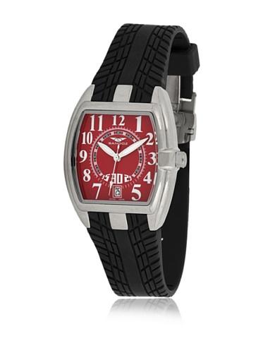 Sandoz 81254-07 - Reloj Fernando Alonso Señora Negro/Rojo