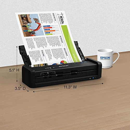 Epson Workforce ES-300W Wireless Color Portable Document Scanner with ADF for PC and Mac, Sheet-fed and Duplex Scanning Photo #6