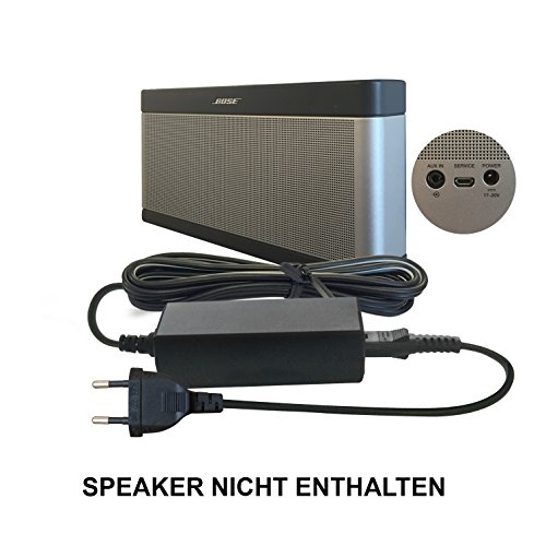ABC Products® Ersatz Bose Akku Ladegerät, Netzteil, Netzadapter, Netzanschluss 17V - 20V, (17-20 Volt) für SoundLink I, II, III, 1, 2, 3 Bluetooth Lautsprecher/Speaker etc