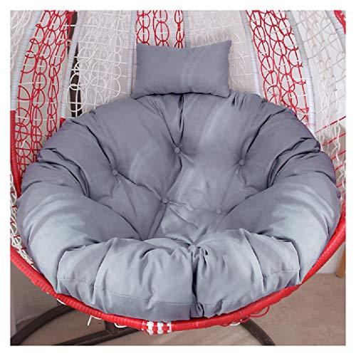 TAOBEGJ Cradle Chair Hanging Egg Hängemattenstuhl Kissen, Summer Wicker Stuhl Kissen Erker Fenster Kissen Stuhl Schaukel Kissen Indoor Praktisch,S