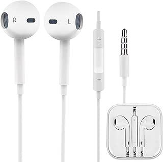 iPhone イヤホン ヘッドホン アイフォン (iPod / iPhone 用イヤホン) マイク付き ステレオイヤフォン ヘッドホン コンパクト 高音質 通話可能 アイフォン/アンドロイド多機種対応