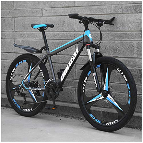 ZDZXC 21 Speed 24 Inch Outroad Mountain Bike Damping Adults Bicycles Electrostatic Paint Process Wind Breaking Wheel Car Body Carbon Steel Material