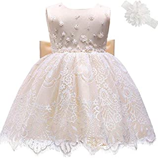 9bcaf99f416bd AHAH Bébé Fille Robe Princesse Robe De Fille De Fleur Robe De Baptême Robe  De Fête