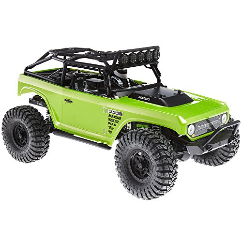 Axial SCX10 Deadbolt 4WD RC Rock Crawler Off-Road 4x4 Electric Ready to Run with 2.4GHz Radio and Waterproof ESC, 1/10 Scale RTR