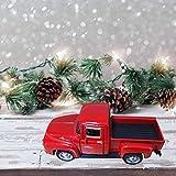 URFEDA 12*5.5*4.5CM Giocattolo auto depoca rossa,Modellino da costruire, Decorazioni Mozzafiato Auto Cavalcabile,Simulazione auto per bambini ragazzi regalo compleanno giocattoli da interno