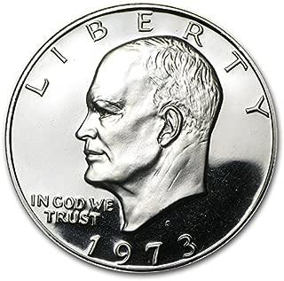 1973 S Eisenhower Dollar US Coin Ike $1 Gem Proof