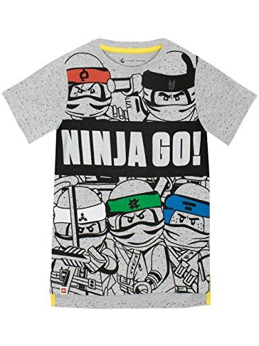 LEGO Camiseta para Niños Ninjago Gris 10-11 Años