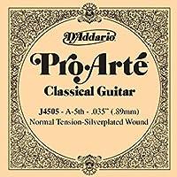 CUERDA SUELTA GUITARRA CLASICA - Dエaddario (J/4505) Pro/Arte Normal (Minimo 5 Cuerdas) 5ェ