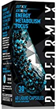 Performix SST Extreme v2X Thermogenic Supplement – Focus, Energy Boost for Men & Women - Caffeine, Teacrine, Vitamin B12, BioPerine, 60 Count