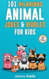 101 Hilarious Animal Jokes & Riddles For Kids: Laugh Out Loud With These Funny & Silly Jokes: Even Your Pet Will Laugh! (WITH 35+ PICTURES)