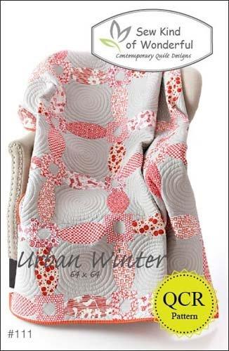 Urban Winter Modern Quilt Pattern #111 By Sew Kind of Wonderful