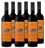 Vino Tinto Heredade do Peso Trinca Bolotas (D.O.Alentejo) - 6 botellas de 750 ml - Total: 4500 ml