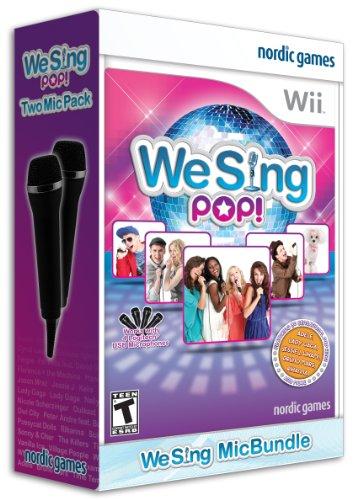 We Sing Pop Bundle (2 Mics)