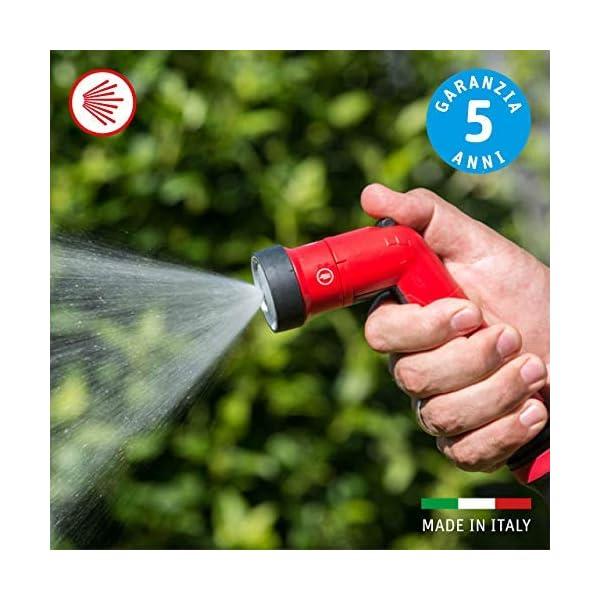 FITT YOYO UP Manguera de Agua de Jardín Extensible para Riego Profesional con Soporte para Vallas, Pistola Multichorro…
