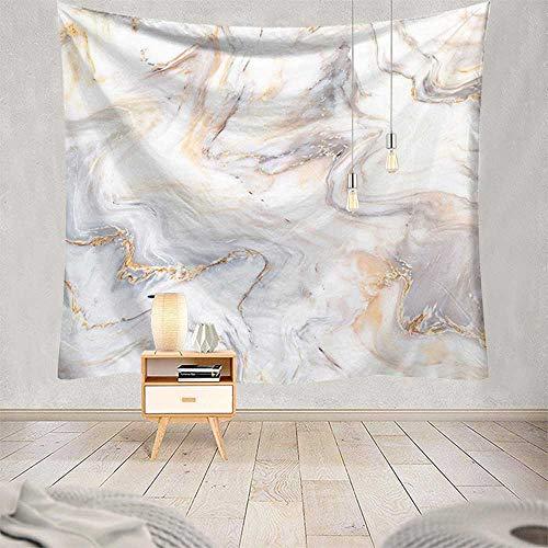 KHKJ Tapiz psicodélico Manta Tela para Colgar en la Pared Arte de poliéster Yoga decoración del hogar Mural patrón de mármol Tapiz A7 200x150cm