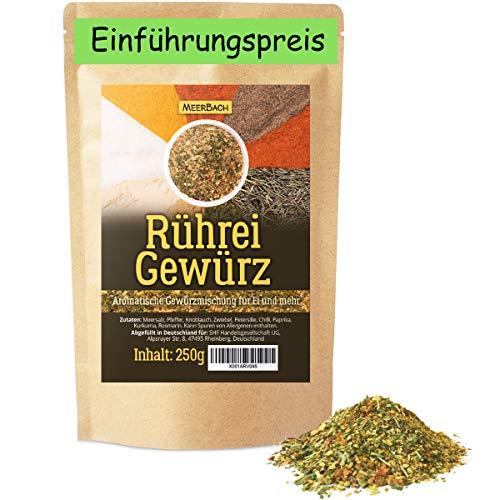 Rührei Gewürz • 250g Rühreigewürz • herrlich aromatische Gewürzmischung für Ei und vieles mehr • zuckerfrei
