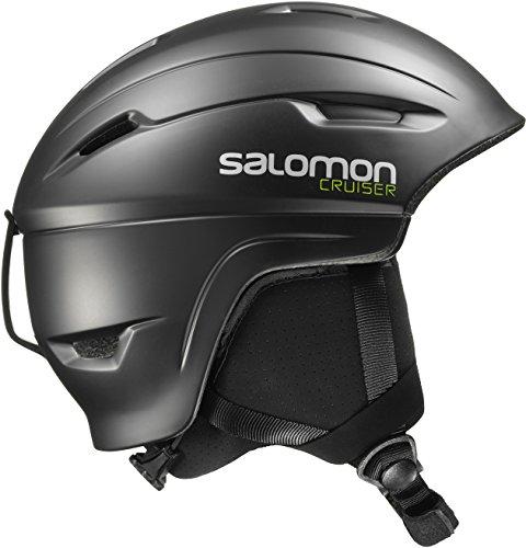Salomon Cruiser Casco de esquí y Snowboard, Carcasa In-Mould, Interior de Espuma EPS 4D, Circunferencia, Unisex Adulto, Black, S (53-56 cm)