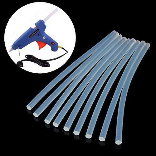 EsportsMJJ 10 Stks 7 Mm X 200 Mm Eva Clear Hot Smelt Lijm Sticks Lijm Sticks Voor Lijm Gun