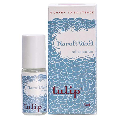 Tulip Perfume Classic Roll On Eau De Parfum, Neroli Wood, 0.6 Ounce