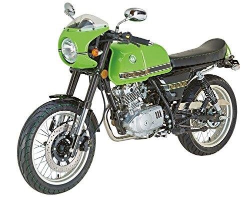 Kreidler Coffee Racer 125 Motorrad   DICE CR 125 grün   8,4 KW 125 ccm 101 km/h 4-Takt