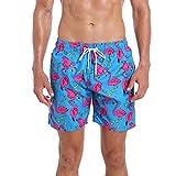 QRANSS Men's Recreational Swimwear