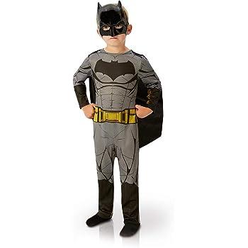 Batman Taille 5-7 ans- I-885100 Rubies-d/éguisement officiel Costume  Plastron Luxe 3d