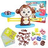 BBLIKE Juguete de Matemáticas, 65 PCS Monkey Balance Tarjetas de...