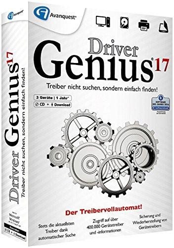 Preisvergleich Produktbild Avanquest Driver Genius 17