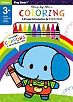 Play Smart Step-by-Step Coloring: A proven introduction to coloring!