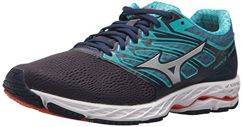 Mizuno Running Men's Mizuno Wave Shadow Running-Shoes,eclipse/silver,10 D US