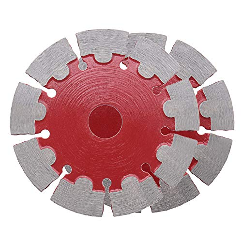 2 Pcs Diamond Blade Cutting Discs Blade Disks125x22.23x1.8mm Cutting Wheel Angle Grinder Segmented Angle for Cutting Granite Marble Cement Concrete Masonry Block