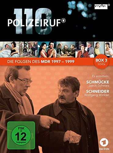 Polizeiruf 110 - MDR-Box 3 [3 DVDs]