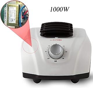 Calentador Eléctrico Multifunción, Host De Secadora De Bajo Ruido, Radiador Temporizador De 180 Minutos para Secar Ropa, Zapatos Y Calefacción, 1000W / 1500W