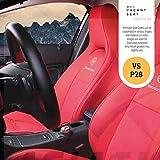 Vacant seat Premium naapa Leather Bucket seat Covers -VS- MS Wagon R VS