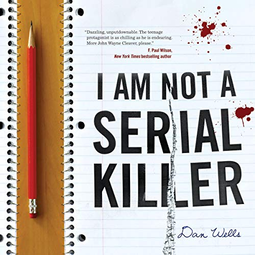 I Am Not a Serial Killer audiobook cover art