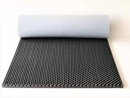 Schaumstoff selbstklebend Noppenschaum Schalldämmung XXL-Matte 200x100x3cm