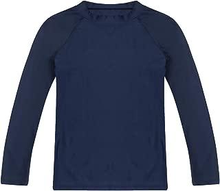 Boys' Long Sleeve Rashguard Swimwear Rash Guard Athletic Tops Swim Shirt UPF 50+ Sun Protection