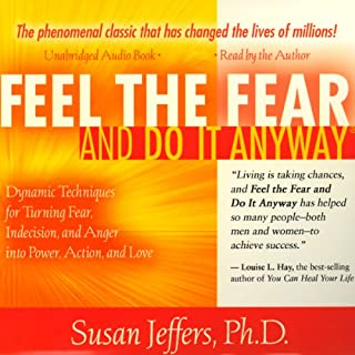 Feel the Fear and Do It Anyway audiobook cover art