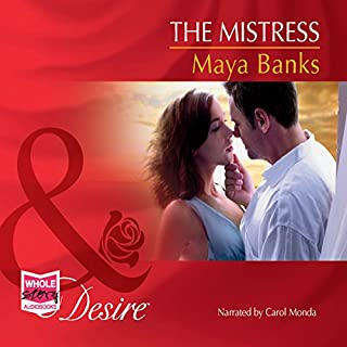 The Mistress                   By:                                                                                                                                 Maya Banks                               Narrated by:                                                                                                                                 Carol Monda                      Length: 5 hrs and 38 mins     5 ratings     Overall 4.8