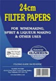 Harris Filters 24cm Vinpapers (Filter Papers)