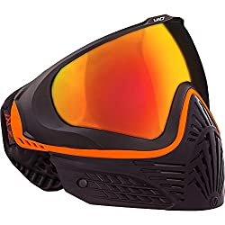 Virtue VIO Extend Thermal Paintball Goggles/Masks - Black Amber