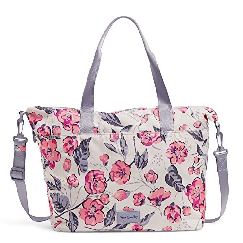 Vera Bradley Women's Recycled Lighten Up ReActive Tote Totes, Hummingbird Blooms, One Size