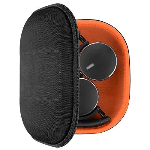 Geekria Funda para Auriculares AKG Y400 Wireless, Y50BT, Y45BT, N60NC, Y500, Estuch Rígido de Transporte, Viaje Bolsa