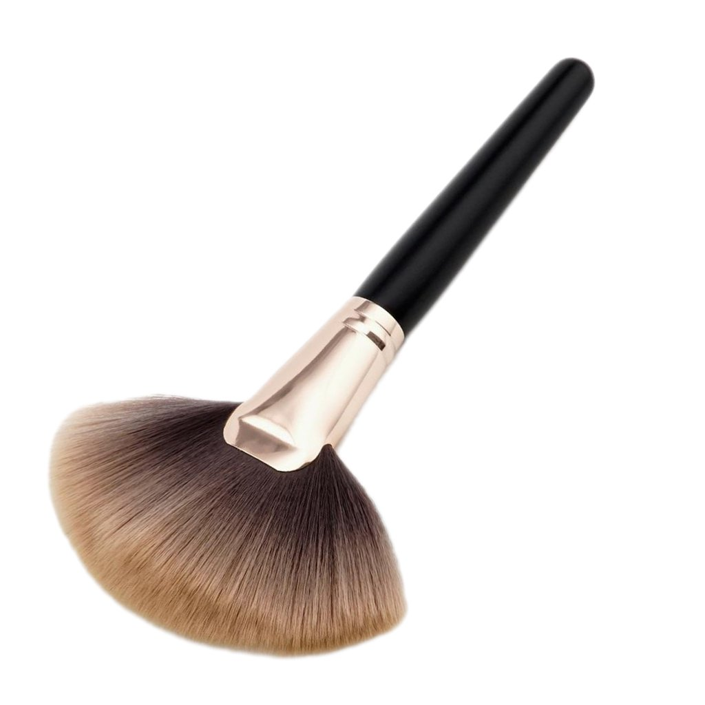 oshhni Pro Soft Wood Handle Shape Brush 2021 spring Super special price and summer new Powder Foundation Chest
