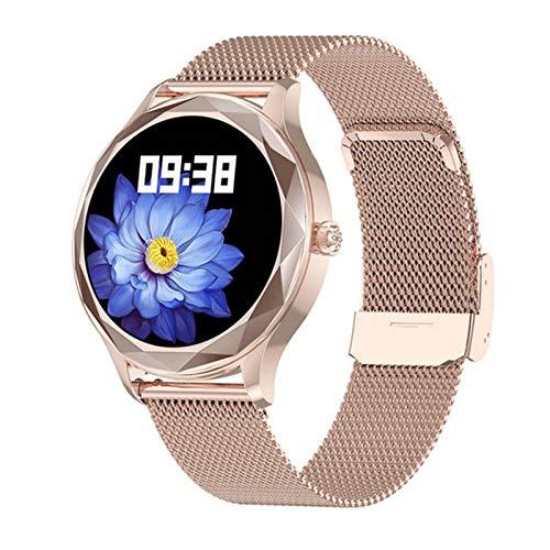 LHL DT86 Bluetooth Smartwatch Fitness Men's Y Women's Watch IP67 Tasa De Corazón A Prueba De Agua Spygmomanometer Sports Watch (para iOS Android),A