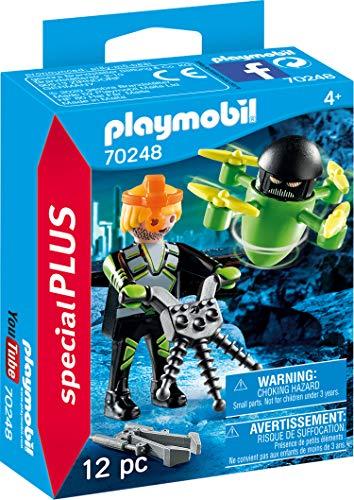 PLAYMOBIL Special Plus 70248 Agent mit Drohne, ab 4 Jahren