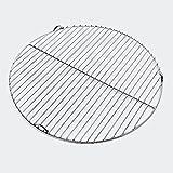 Griglia per barbecue in acciaio inox rotonda Ø 44,5cm Barbecue a carbone e a gas